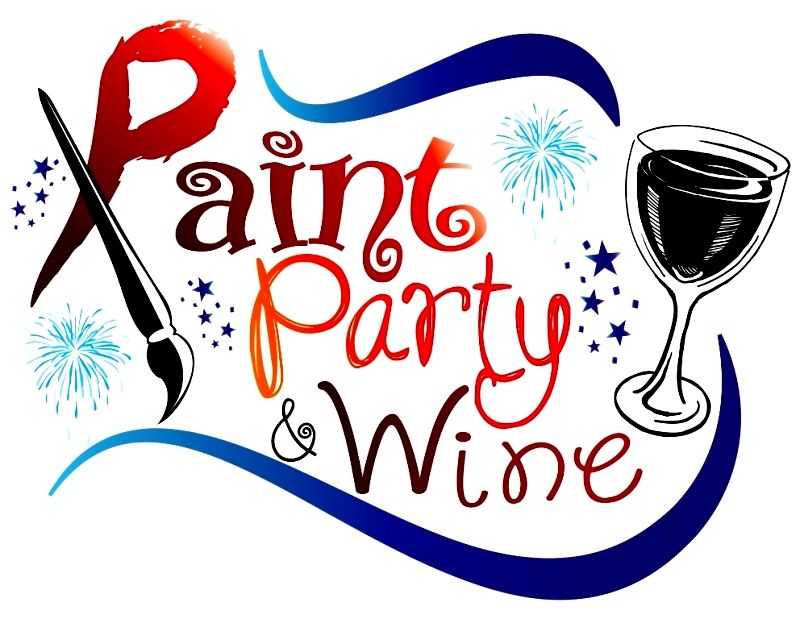 Paint party and wine private party paint and drink for Wine paint party