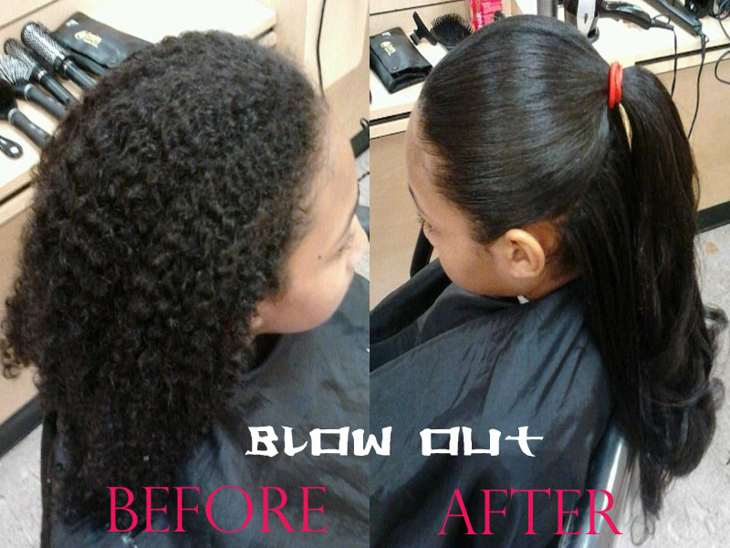 How To Straighten Naturally Curly And Frizzy Hair