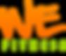 Logo We fitness