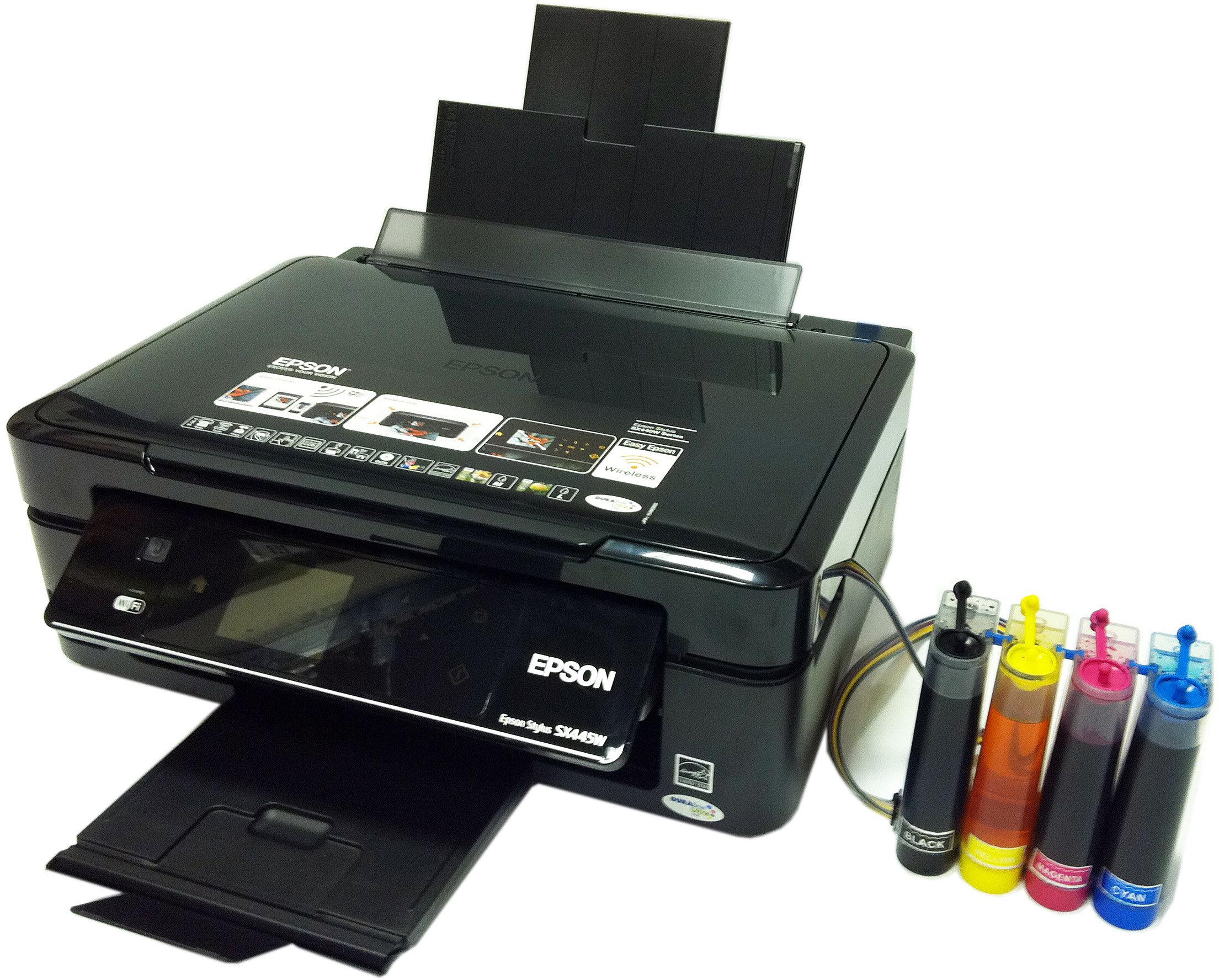 Как сделать чернила в принтере 592