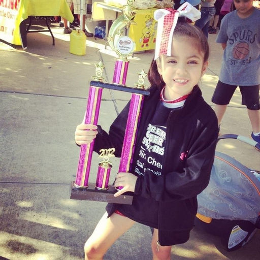 Carrisa 1st Place Individual Best Cheerleader