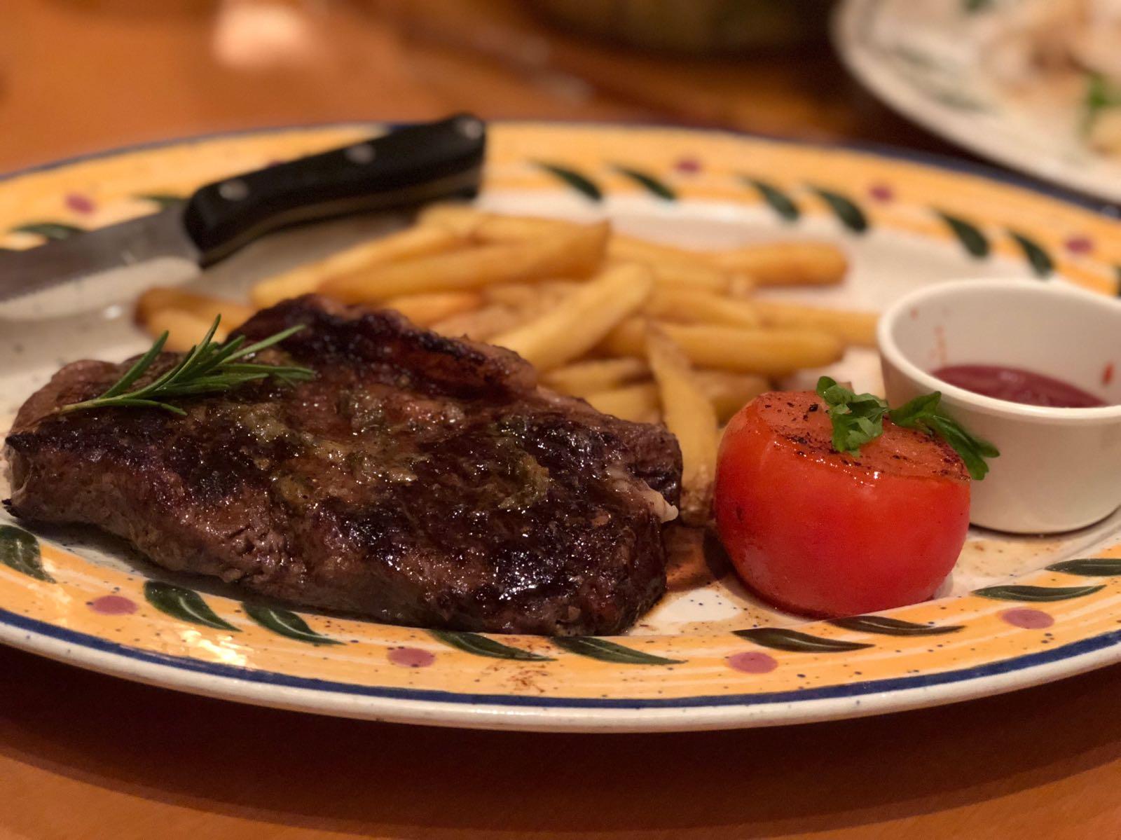Steak Toscano @ Olive Garden | snlreviews