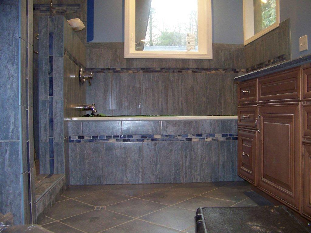 Tiled Shower Tub Combo Home Design 2017