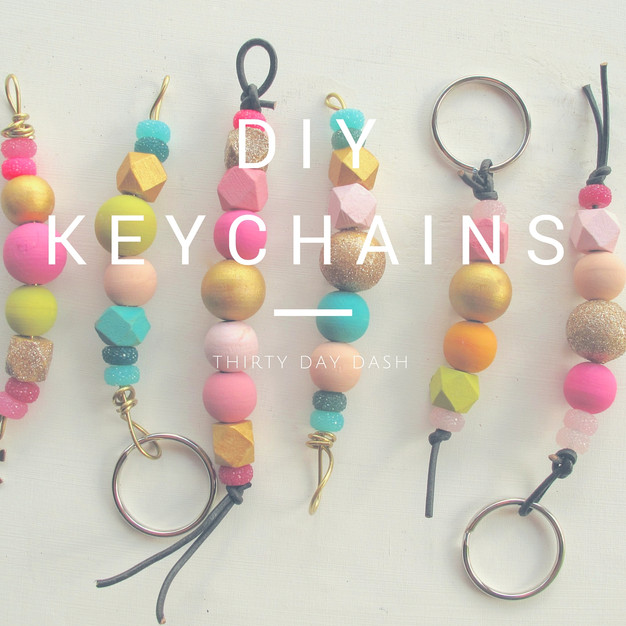 diy keychains thirty day dash diy wedding and day of wedding services. Black Bedroom Furniture Sets. Home Design Ideas