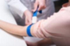 Preparando-se para o exame de sangue