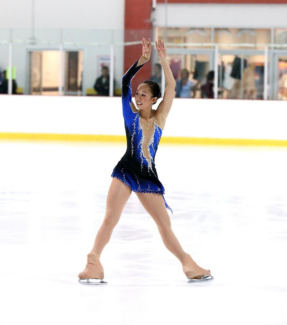 Custom Made Figure Skating Costumes by Lisa McKinnon Designs Inc