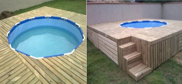 A piscina mais barata e pr tica que voc j viu e voc for Como hacer una piscina barata