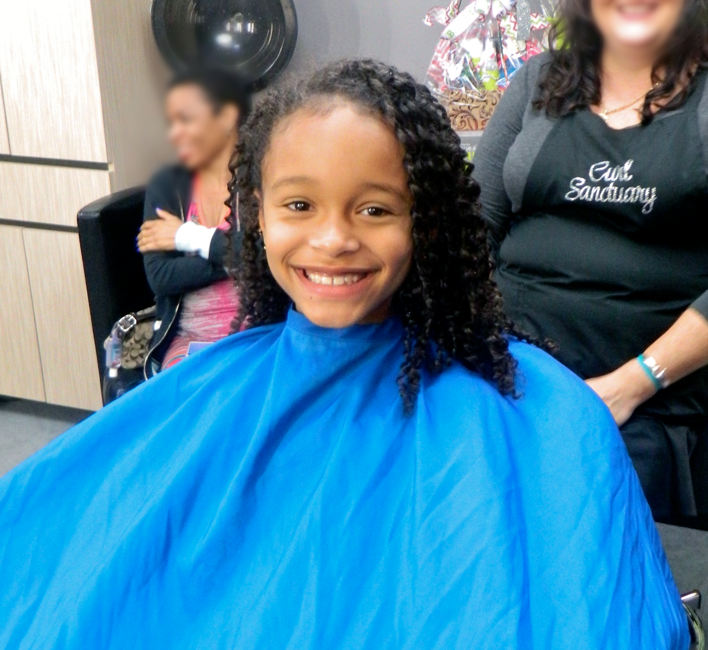 First Hair Cut For My Daughter Biracial Naturally Curly