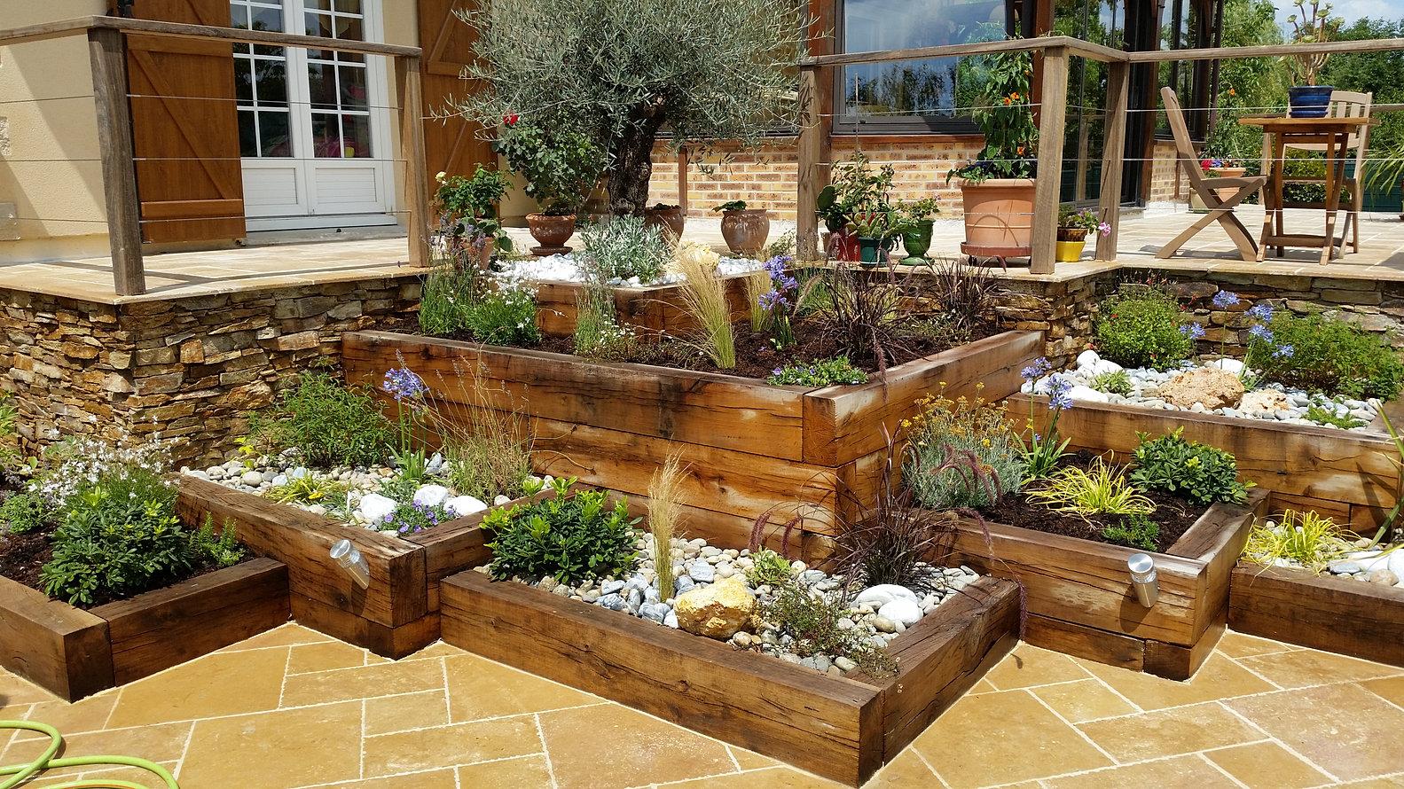 perspective jardins. Black Bedroom Furniture Sets. Home Design Ideas