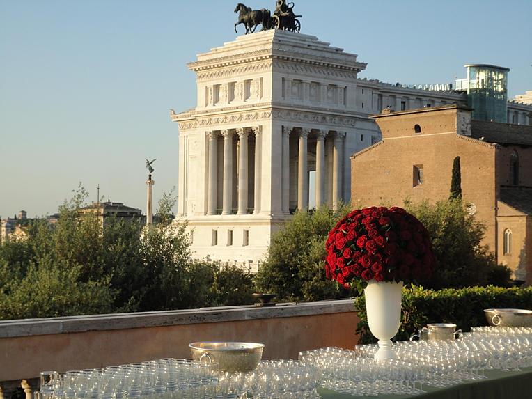 Best Terrazza Caffarelli Roma Contemporary - Idee Arredamento Casa ...