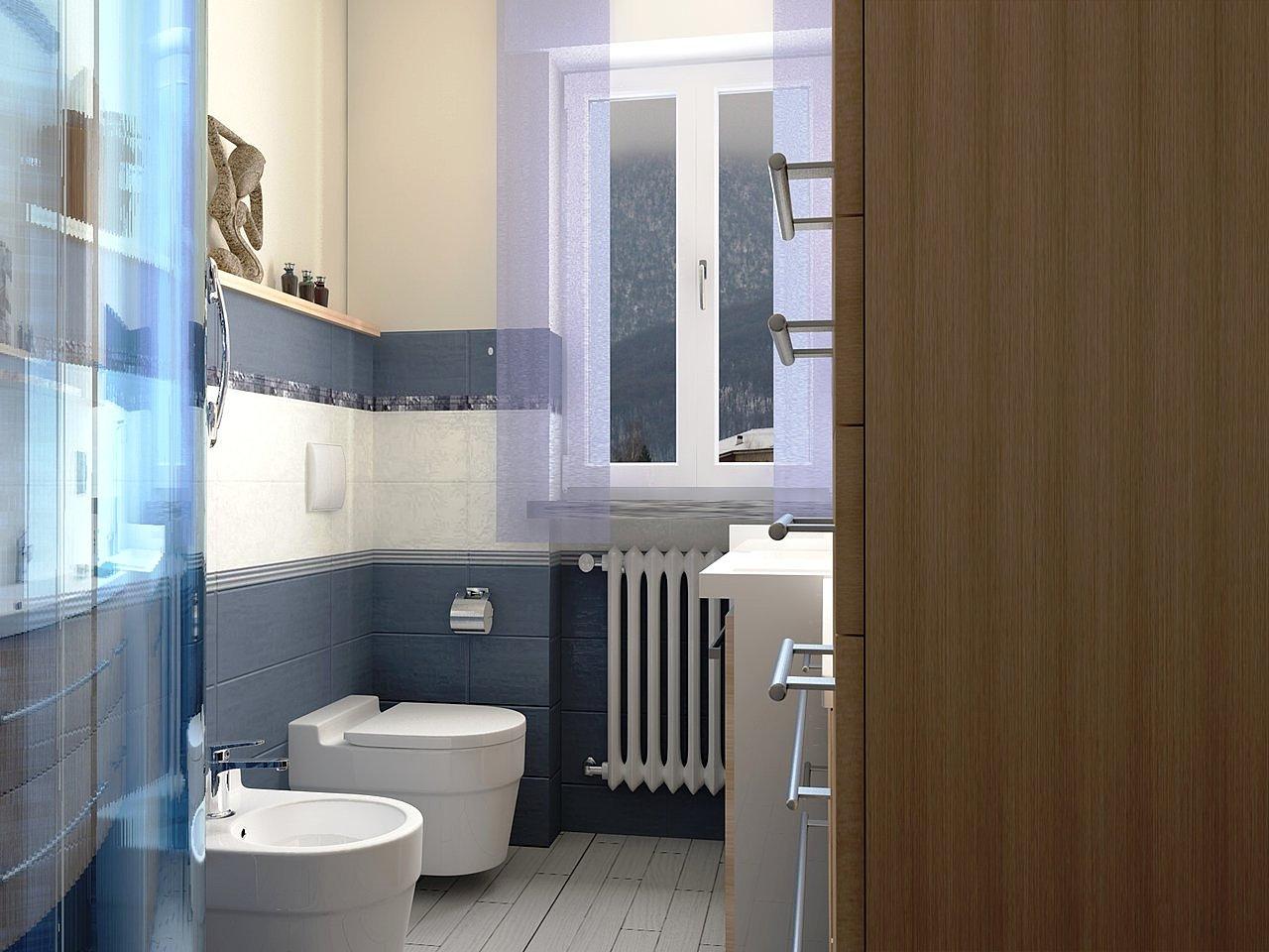 Proposta e studio per ristrutturazione di un piccolo bagno di servizio ...