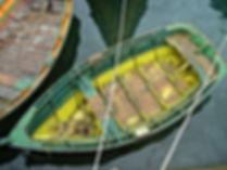 barque Chilote, caleta Tortel, Chili