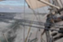 Navigation au largue, Pacifique sud