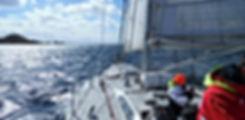 Navigation à la voile vers le cap Horn