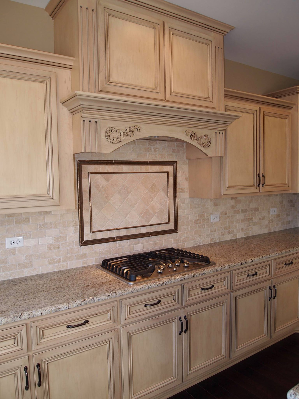 Antico Bianco Granite Kitchen Homer Glen Granite Countertops Insignia Stone Kitchen Projects