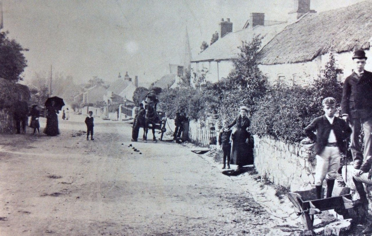 Top Of High Street - 1885