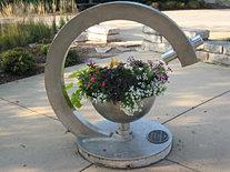 Spinning Flower Bowl Teleidoscope