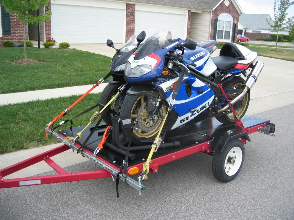 Tips On Securing A Motorcycle Trailer