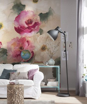 Lovely This Isnu0027t Grandmau0027s Floral Wallpaper: Think Large Scale Patterns, Vibrant  Blooms And Big, Bold Hues. Part 22