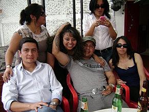 Reunión de buenos amigos (Terraza)