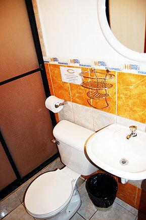Baño privado de habitación Estándar