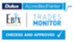 Ebix Australia and Dulux Accredited Painters