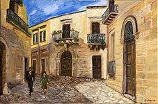 Lecce, passeggiata domenicale