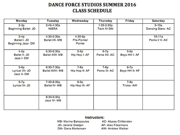 8-week summer class?