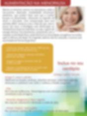 alimentação na menopausa, dicas de saude, menopausa, linhaça shopping line, produtos naturais, beneficios da linhaça, aulixio na menopaula,