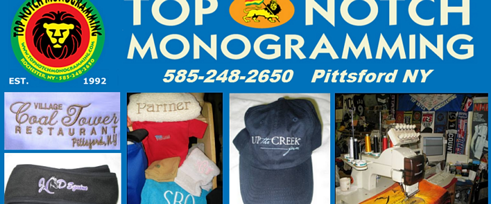 KIDS UNIFORMS MONOGRAMMING EMBROIDERY ROCHESTER NY