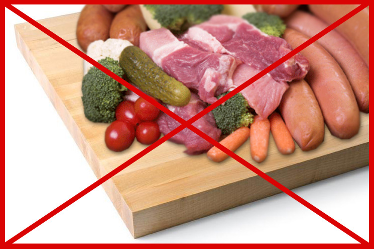 cross contamination occurs when
