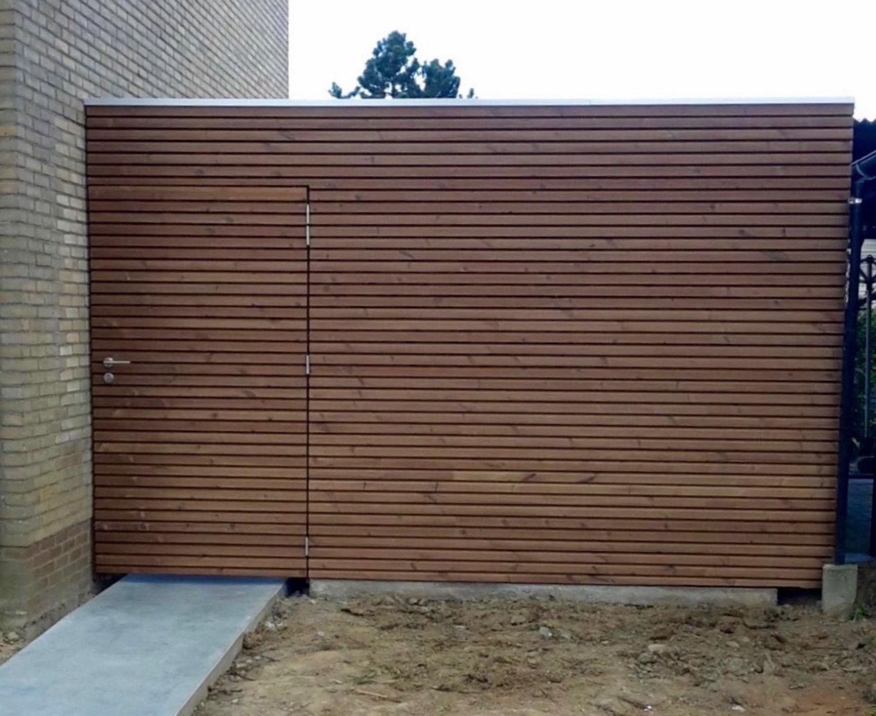Ousit tuinhuizen - Eigentijdse houten lounge ...