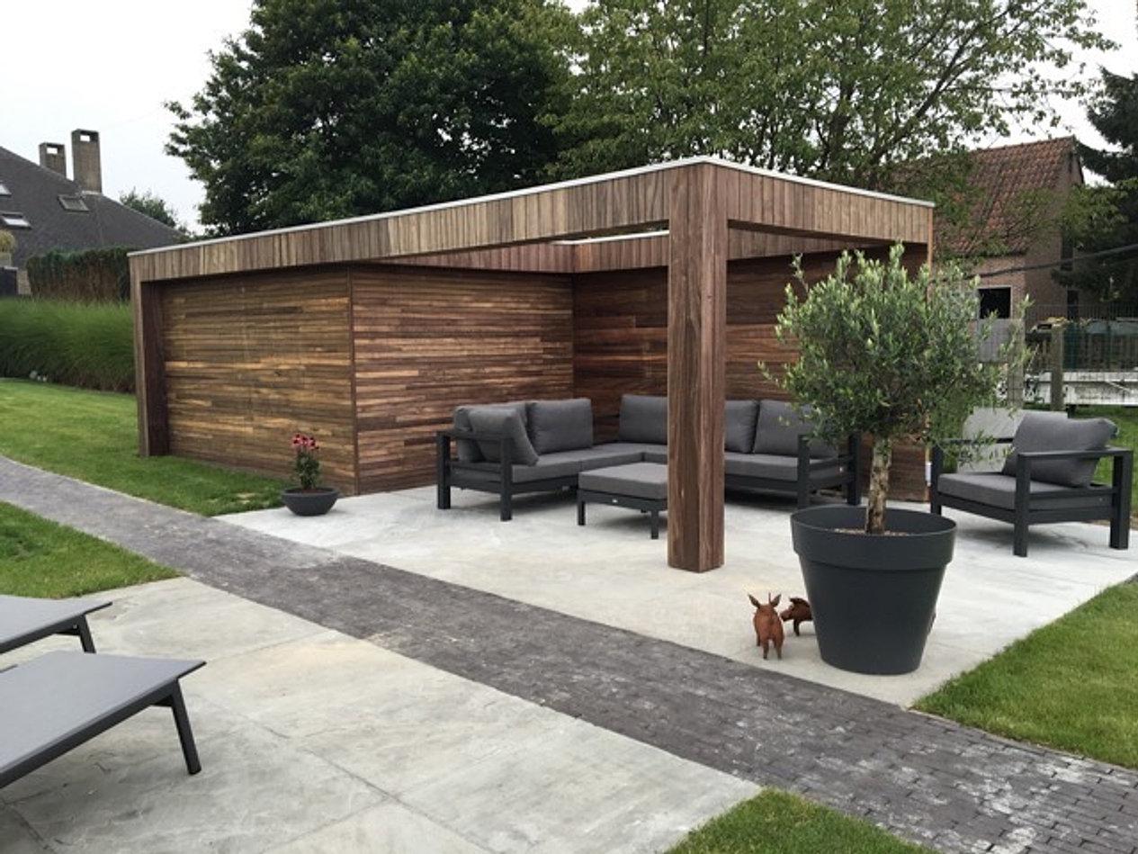 Outsit poolhouse - Eigentijdse houten lounge ...
