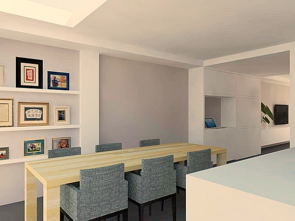 Berns interieur architectuur prj ontwerp woonkeuken living for Interieur architectuur