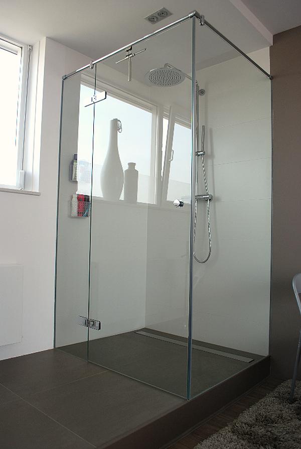 Berns interieur architectuur prj ontwerpverbouw slaap badkamer for Ontwerp bad