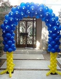 Arco Gas >> Detalhe Balões| locação de gás Hélio, decoração com ...