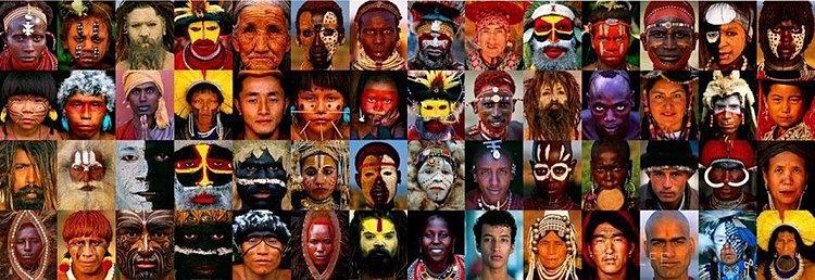 Resultado de imagen para todas las razas humanas planeta tierra