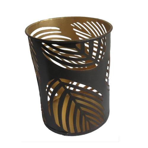 nz homewares home decor gardens large gold leaf candle holder