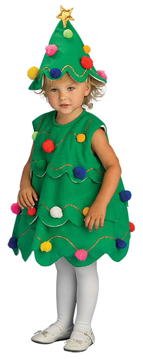 Костюм елки для девочки