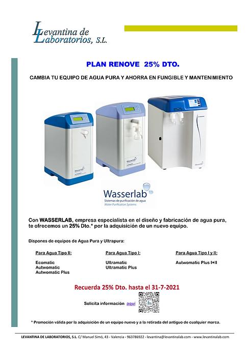 Agua Pura Ultrapura Tipo I II laboratorio osmosis