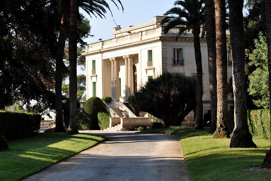 Plan De La Villa Eilenroc