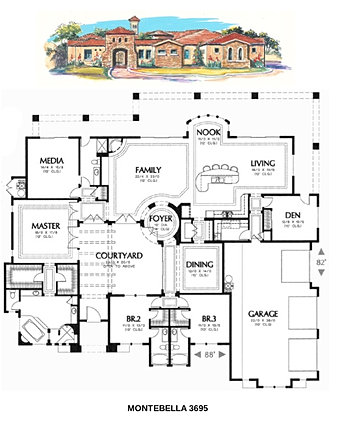 Maxx builder custom home builder tucson az floor plans for Tucson house plans