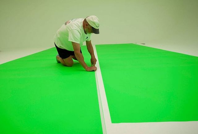 Avmea fzc pro matte virtual green chroma key studio Virtual flooring