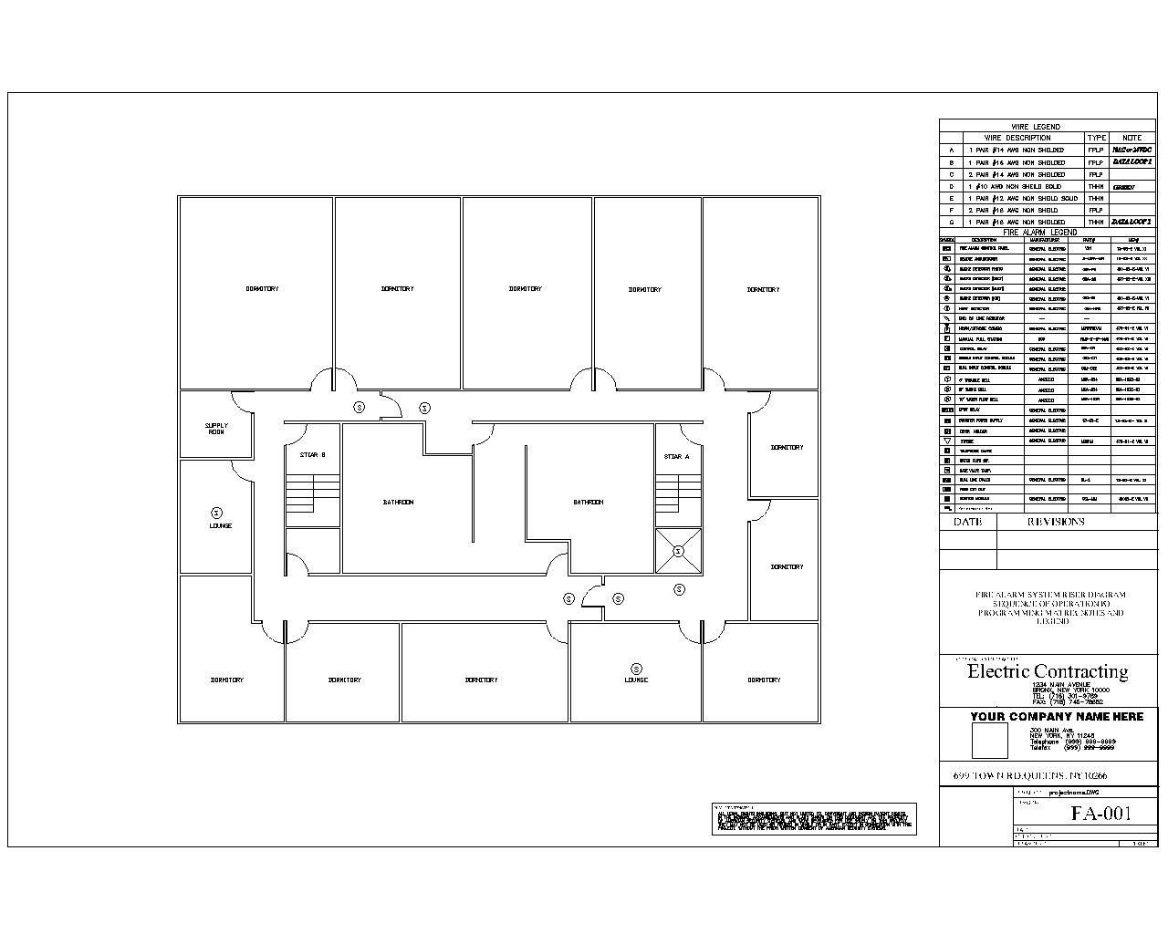 intell tech design group examples wix com fire alarm layout drawing at Fire Alarm Layout Diagram