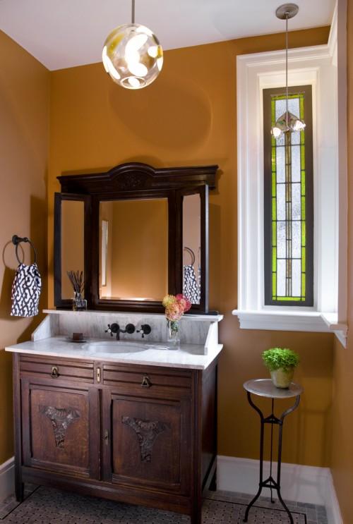 decoracao banheiro retro: Vintage e Provençal