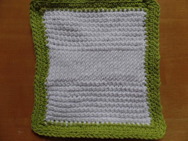 Tunisian Crochet Dishcloth Free Pattern : Textured Tunisian Dishcloth - Free Pattern comfycozywarm
