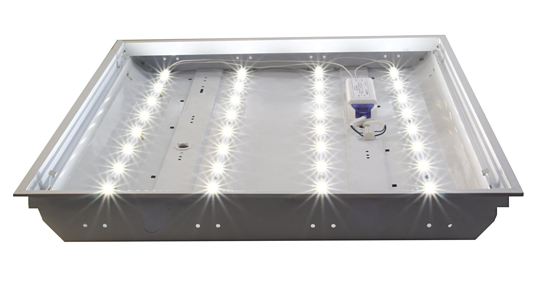 Светодиодный светильник своими руками для армстронг