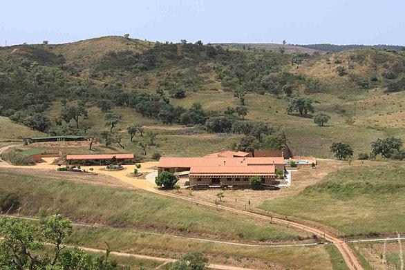 main house of Herdade da Nespereira