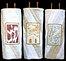 Papercut style Torah Covers