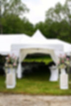 Hendersonville Wedding Tent Rental